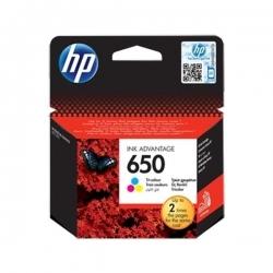 HP 650 Cartouche d'encre trois couleurs POUR DESKJET 2515 - CZ102AE