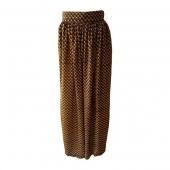 Longue jupe Nanawax Écaille jaune