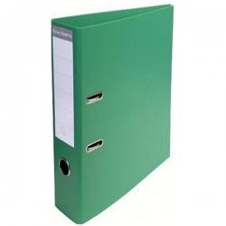 Lot De 5 Classeurs -Plastique -Avec Perforations-Exacompta-Dos 8 cm- Coloris vert claire