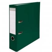 Lot De 5 Classeurs -Plastique -Avec Perforations-Exacompta-Dos 8 cm- Coloris Vert foncé