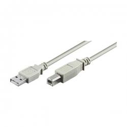 Câble usb pour Imprimante - MICROCONNECT USB2.0 A-B 1.8M MALE-MALE, USBAB2