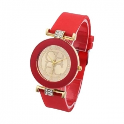 CAROLINA HERRERA CHHC - Montre pour Dame - Couleur Rouge