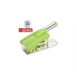 Hachoir Nicer Dicer Multi-Usage 12 En 1 Pour Fruits & Legumes