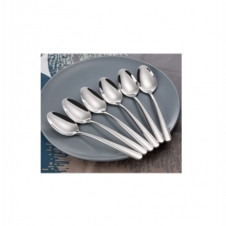 Lot De 6 Cuilleres De Table - Inox