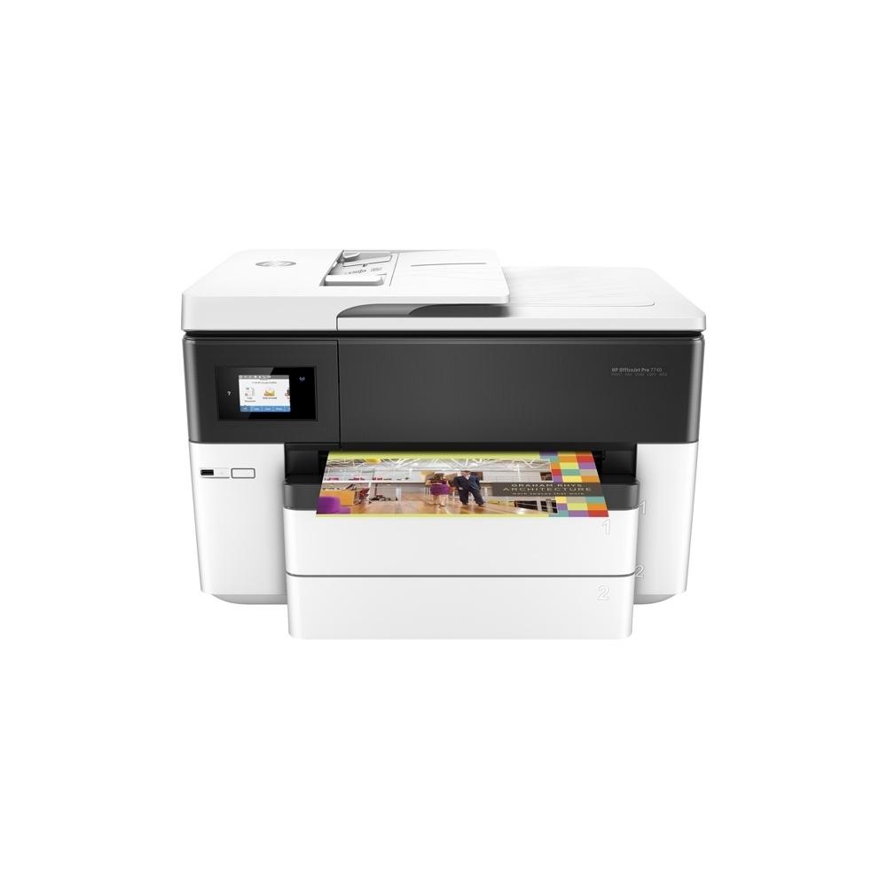 hp officejet pro 7740 imprimante couleur a3 tout en un wifi recto verso garantie 6 mois. Black Bedroom Furniture Sets. Home Design Ideas