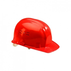 Casque de chantier Rouge 65105