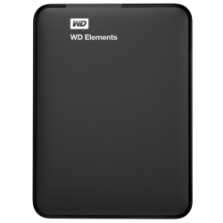WD Elements Disque Dur Externe 1 To (1000 Go) WDBUZG0010BBK USB 3.0