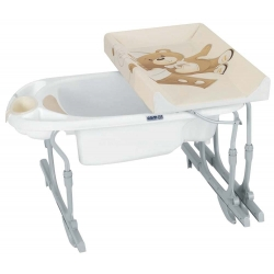 BAIGNOIRE BEBE + SUPPORT EXTENSIBLE