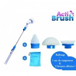 ACTIBRUSH-brosse à récurer-TELESHOPPING