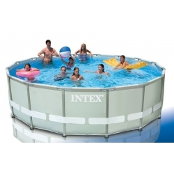 PISCINE RONDE RIGIDE INTEX 549 x 132CM
