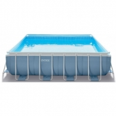 PISCINE RIGIDE CARRE INTEX 427X427X107CM