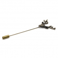 Broche de revers de veste GILBERT BOCLE BRONZE