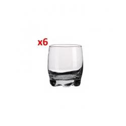 Verre pour Liqueur - Whisky - Set de 6 Pièces