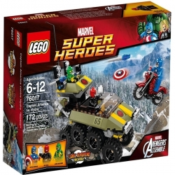 LEGO Marvel Super Heroes Captain America VS Hydra Réf 76017