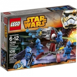 LEGO® Star Wars The Clone Wars Senate Commando Troopers Réf 75088