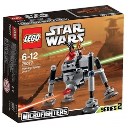 LEGO® Star Wars Microfighters Homing Spider Droid Réf 75077