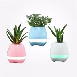 ENCEINTE BLUETOOTH SMART POT - Pot de fleur -haut-parleurs Bluetooth