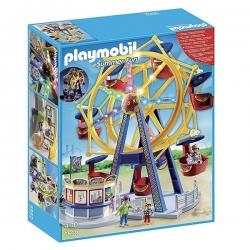 Playmobil - Grande roue avec éclairage coloré - Réf 5552