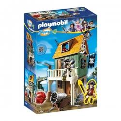 Playmobil Super4 - Fort Des Pirates Camouflé Avec Ruby - Réf 4796