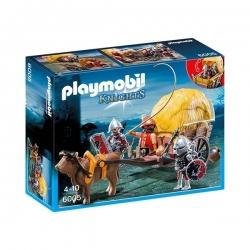 Playmobil - Chevalier Aigle + Charette - Réf 6005