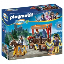 Playmobil Super4 - Tribune Royale - Réf 6695