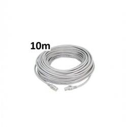10m Câble Réseau FTP Cat6 Blindé et Serti