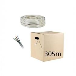 Carton de Câble Réseau FTP Cat6 Blindé - 305m