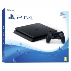 Playstation 4 Slim Noir (500 GO) - 1 Manette