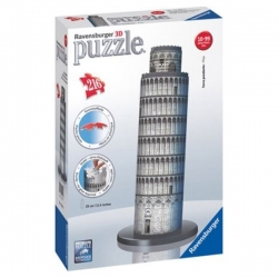 Puzzle 3D Ravensburger - 216 Pcs - La Tour de Pise - Réf 12557