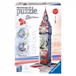 Puzzle 3D Ravensburger - 216 Pcs - Big Ben - Réf 12582
