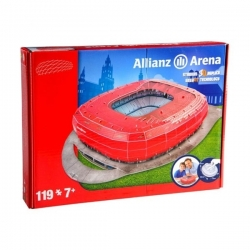 Puzzle 3D - 119 Pcs - Bayern Munich Allianz Arena