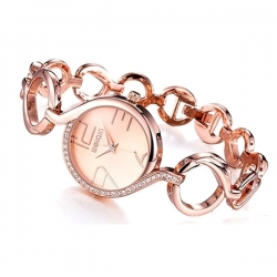 WEIQIN SIGNATURE ROSE GOLD-Montre femme