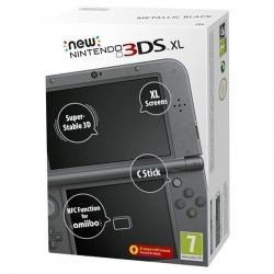 New Nintendo 3DS XL Noir métallique