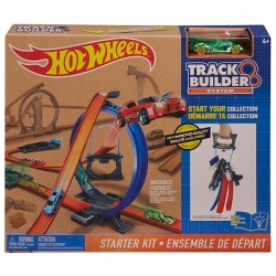 Hot Wheels Track Builder - Ensemble de départ - Réf DGD29-0