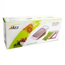 Trancheuse De Légumes, Râpeuse Idéal pour fruits et légumes en inox – Couleur aléatoire