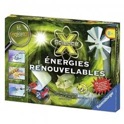 Jeu éducatif - Ravensburger - Science X - Energies renouvelables