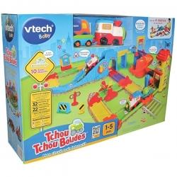 VTECH - Tchou Tchou Bolides - Mon Circuit Train Intéractif