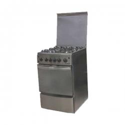 SMART TECHNOLOGY Gazinière (STC-5050C) 4 Feux Avec Four - 50 X 50 Cm - Inox - Garantie 6 Mois