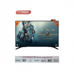 "Smart Technology TV Led 49"" Full HD - STT-7749 - HDM/USB/Décodeur Intégré"