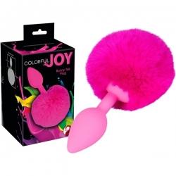 Plug en Silicone Colorful Joy Bunny Tail