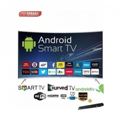 "Smart Technology TV Led Incurvée 49"" Full HD Ultra Slim - STT-9049CS - Décodeur & Stabilisateur intégrés/Android/WI-Fi"