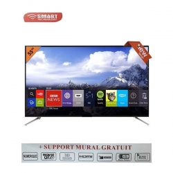 "Smart Technology TV Led 55"" Full HD - STT-9555 - Wifi/HDMI/RJ45/VGA/USB/Décodeur Intégré"
