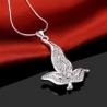 """collier et pendentif collection """" Natural Fashion"""" - plaqué argent"""
