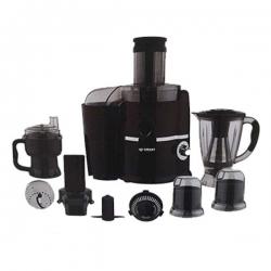 SMART TECHNOLOGY Robot De Cuisine Multifonctions 10 En 1 (Mixeur - Hacheur - Broyeur...) - STPE-505 - Noir