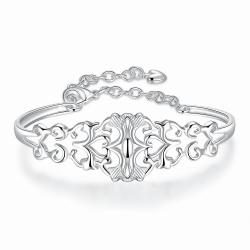 """Bracelet collection """"Impérial Pups """" - plaqué Argent"""