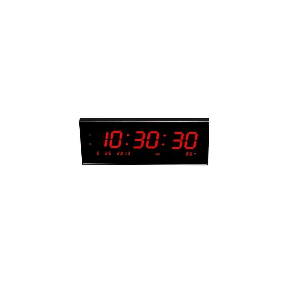 Electronique horloge murale num rique led calendrier - Horloge murale avec calendrier ...