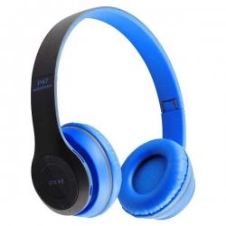 Casque P47 Bluetooth pour Smartphone - Bleu