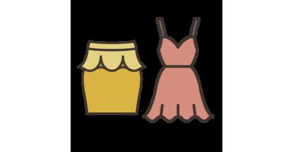 Jupes, Robes & Tenues