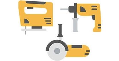 Outils mécanique électroportatifs